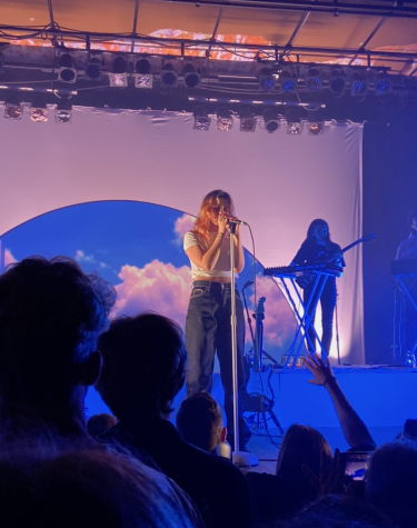 Artist Clairo performs at Turner Hall Ballroom. Both the performance itself and the visuals made it a memorable show.