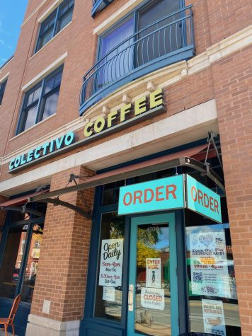 Collective Coffee on Oakland Avenue in Shorewood. Workers are attempting to form a union through the IBEW.