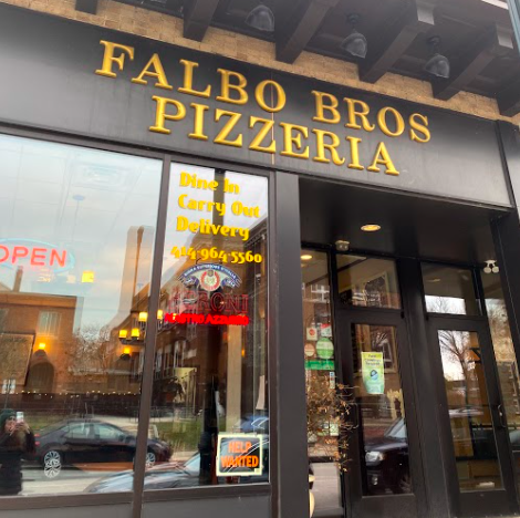 Falbo Bros Pizzeria stands on Capitol Dr in Shorewood. The restaurant chain moved here about 12 years ago.