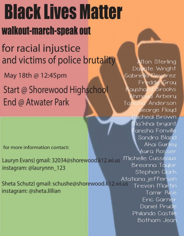 Walkout organized for May 18