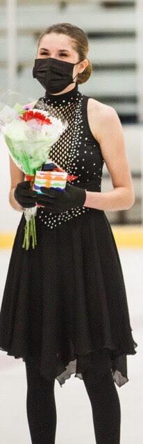 Senior awarded Gold award for figure skating