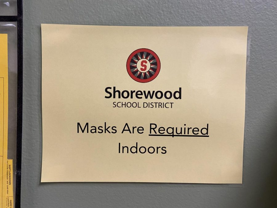 All schools in the district are under an indoor mask  mandate, one of the precautions being taken to mitigate the spread of COVID-19.